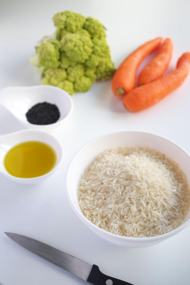 Ingredientes para Arroz Blanco Rápido 5 Ingredientes
