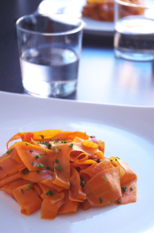 Cintas de Zanahoria con Miso listas para comer